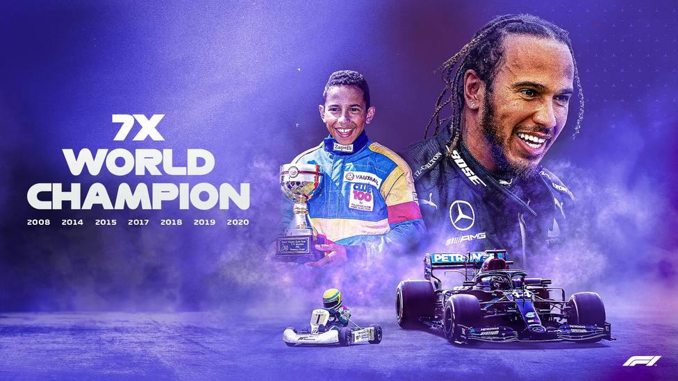 Hamilton consigue su séptimo Mundial e iguala a Schumacher