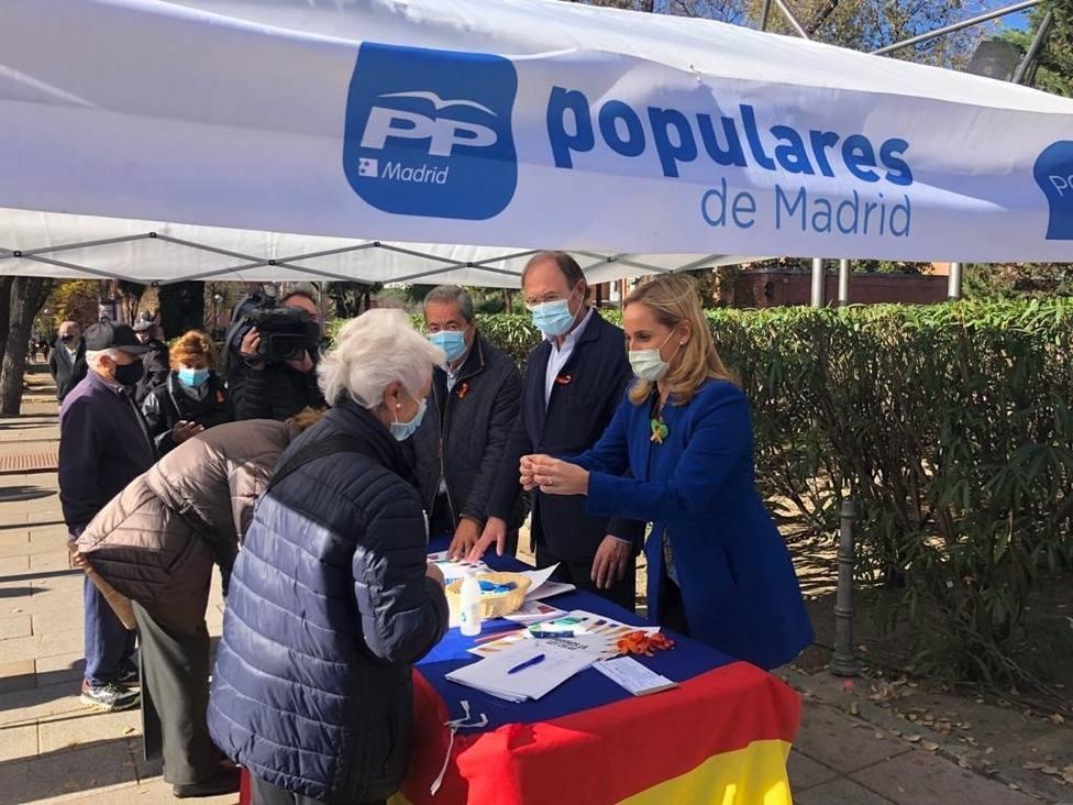 El PP de Madrid despliega cerca de 80 acciones contra la Ley Celaá por toda la región