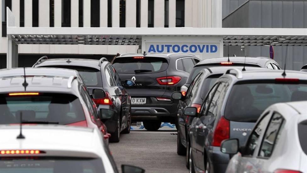 Autocovid en el HUCA