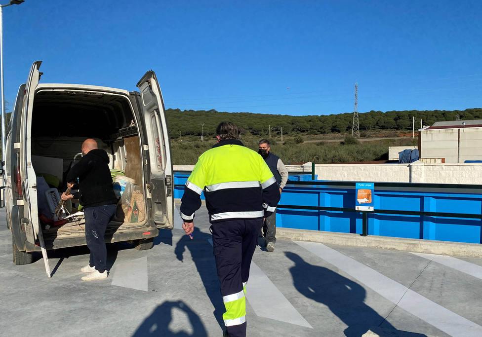 Posadas cuenta con un punto limpio gestionado por la Empresa Provincial de Residuos y Medio Ambiente, Epremasa