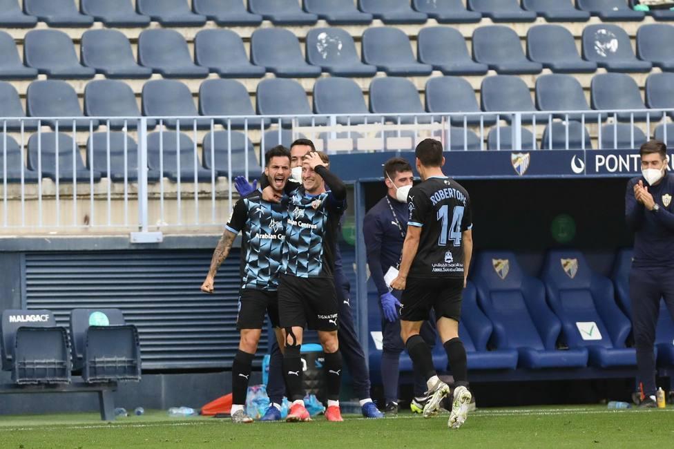 Málaga CF-UD Almería (0-3): Y sin embargo te quiero