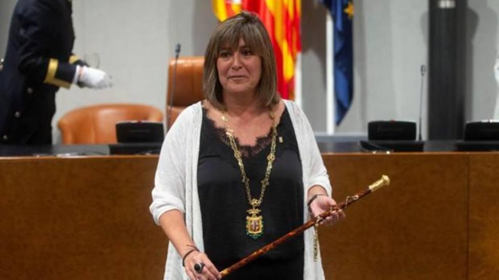 Nuria Marín, alcaldesa de LHospitalet