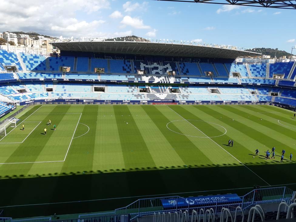 El Málaga secunda a la Liga y se opone a la creación de la Superliga Europea