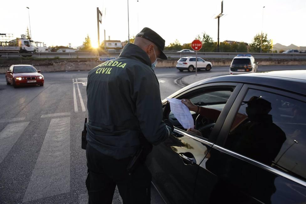 Granada.- Coronavirus.- Las fuerzas de seguridad refuerzan el control de la movilidad tras la apertura de la provincia