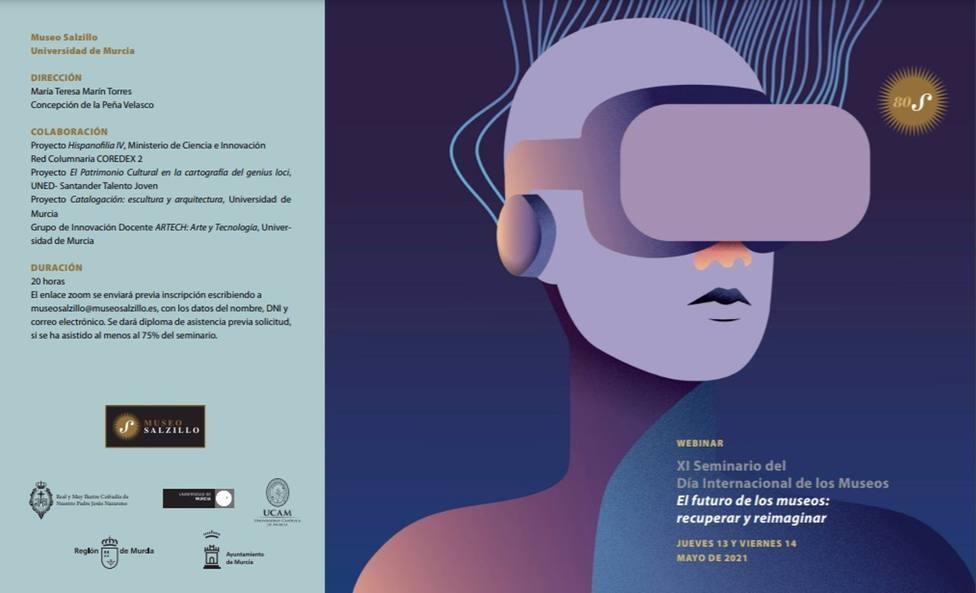 El Museo Salzillo celebrará el 13 y 14 de mayo el XI seminario El futuro de los museos: recuperar y reimaginar