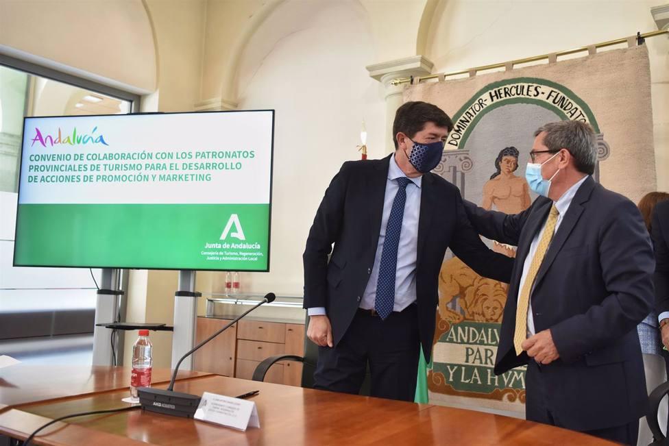 Granada.- Turismo.- Junta y Diputación invertirán medio millón de euros para la promoción de la provincia