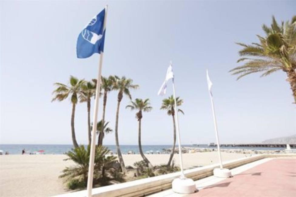 Las playas y puertos deportivos de Almería obtienen 33 Banderas Azules en 2021