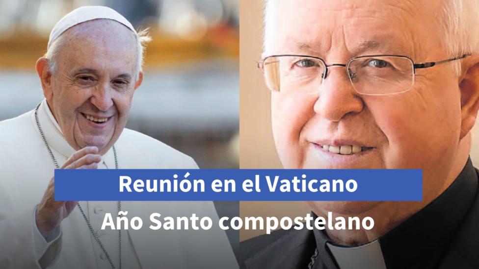 El Arzobispo de Santiago se reunirá con el Papa el 14 de junio