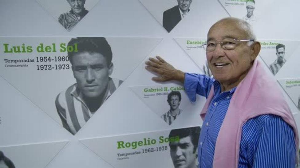 Luis del Sol, leyenda del Real Betis Balompié (@RealBetis)