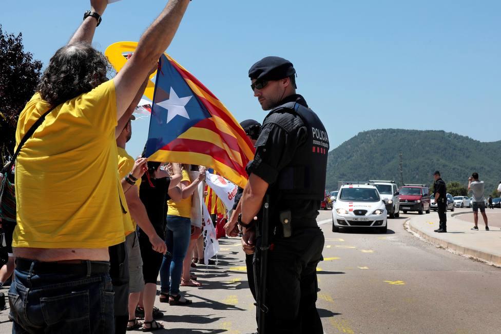 Los presos catalanes abandonarán la prisión mañana miércoles desde las 12 de la mañana