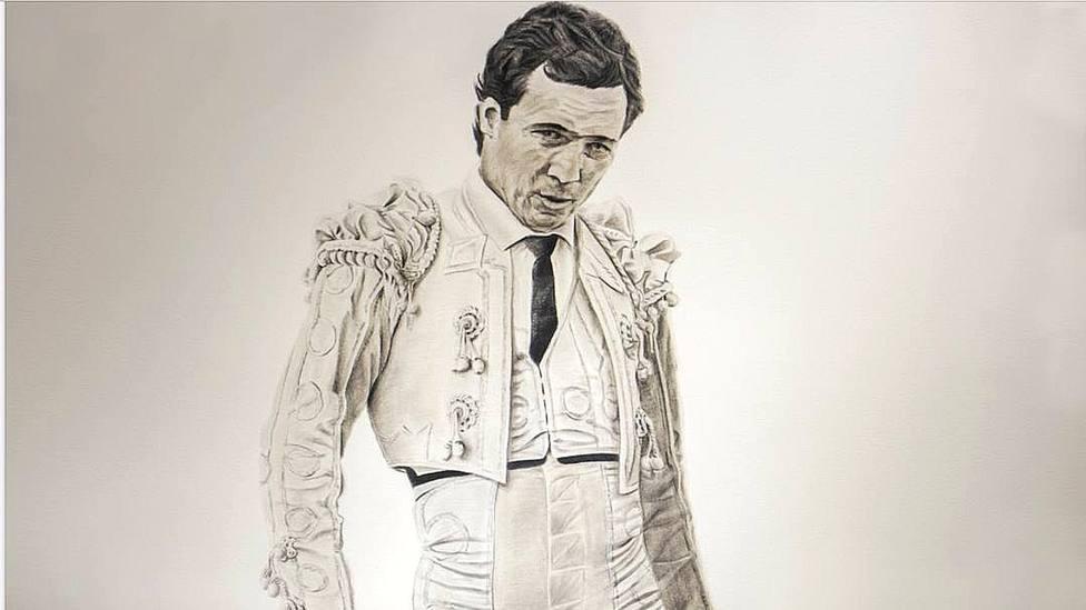 José María Manzanares, inspirador del cartel anunciador de la feria de Alicante obra de Chimo Pérez
