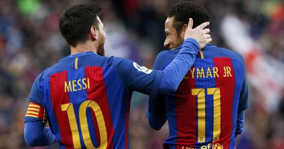 Neymar espera a Messi en la final de la Copa América