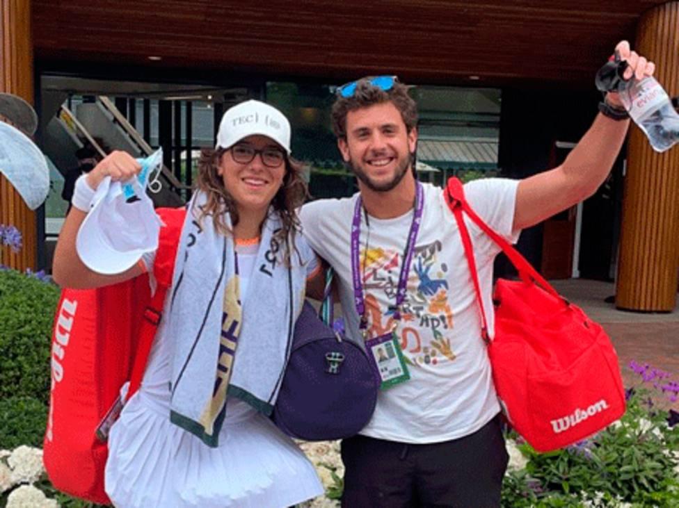 Ane Mintegui se cita con la historia en Wimbledon