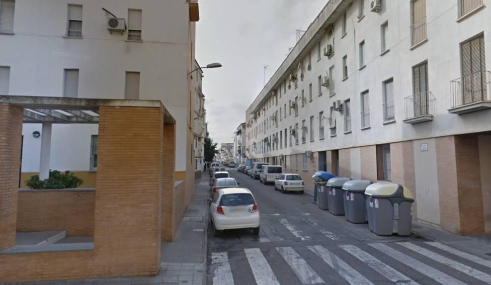 Calle Federico García Lorca, Almendralejo