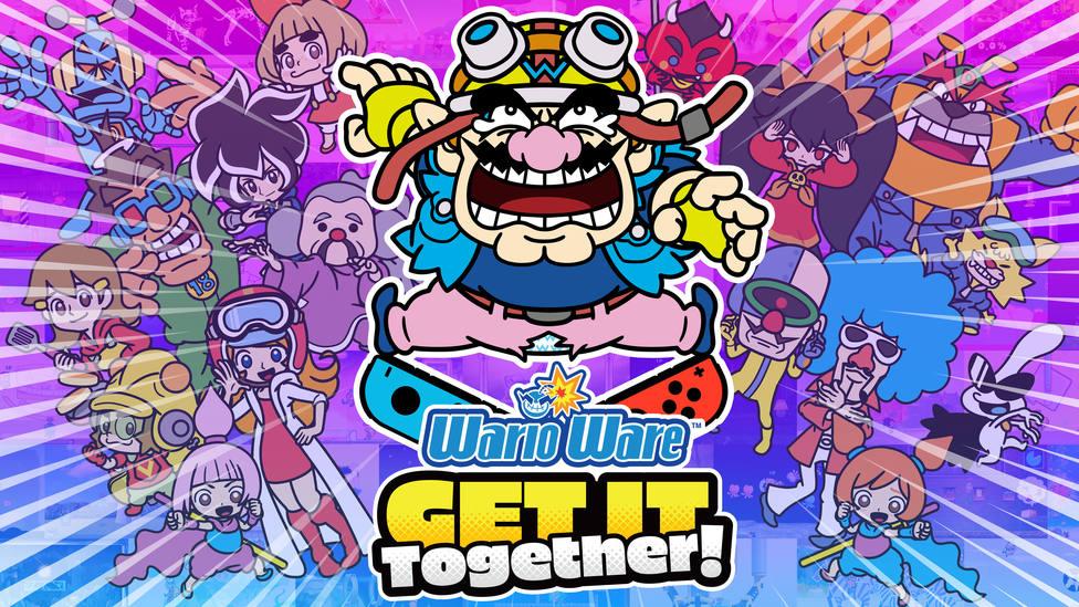 Microjuegos a mansalva en WarioWare: Get It Together! para Nintendo Switch