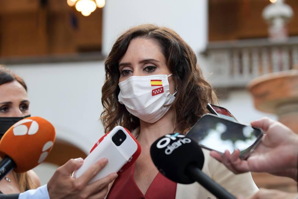 Ayuso anuncia el fin de todas las restricciones de aforo en Madrid a partir del lunes