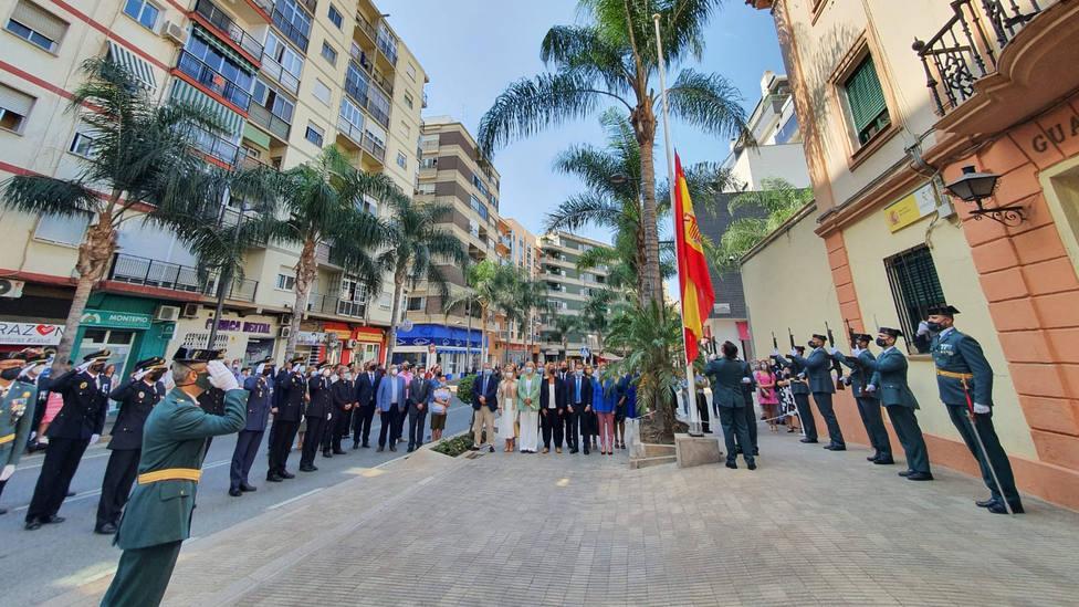 El Gobierno Municipal de Motril arropa a la Guardia Civil el día de su patrona