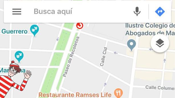 Wally sale en Google Maps