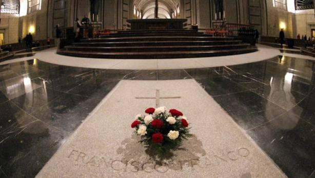 Tumba de Franco en la Basílica