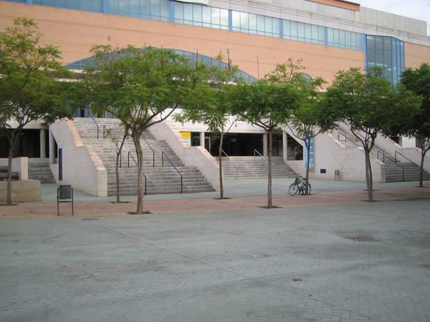 El Palacio de losDeportes de Murcia tendrá nueva fachada el próximo año