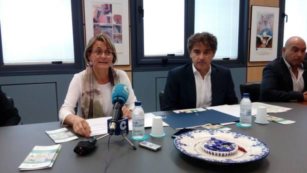 Eva Alcón y Francesc Colomer
