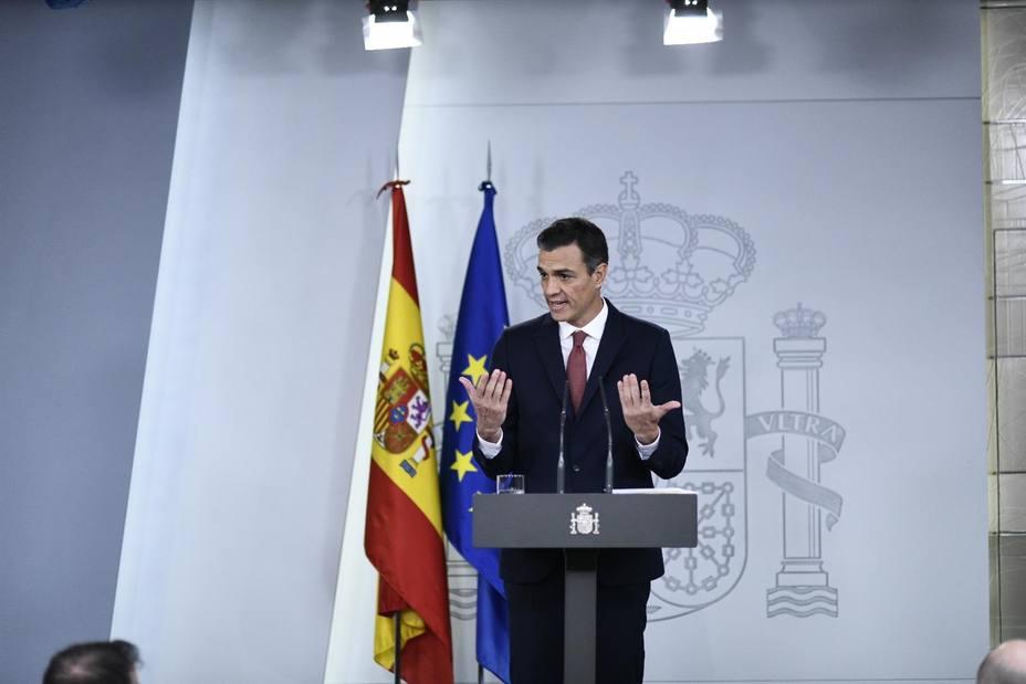 Sánchez insiste en agotar la legislatura aunque no apruebe el Presupuesto y sacará las medidas vía decretos