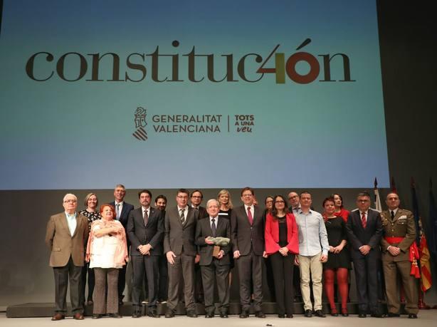 Puig en los actos de ayer en Alicante