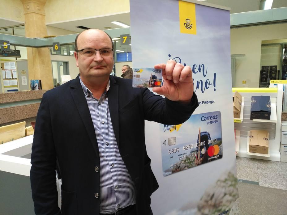 Jesús Rodríguez, director de la Oficina de Correos en Ferrol