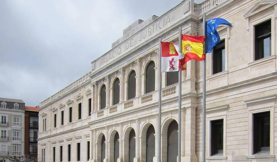 Imagen de la sede del TSJ de Castilla y León.