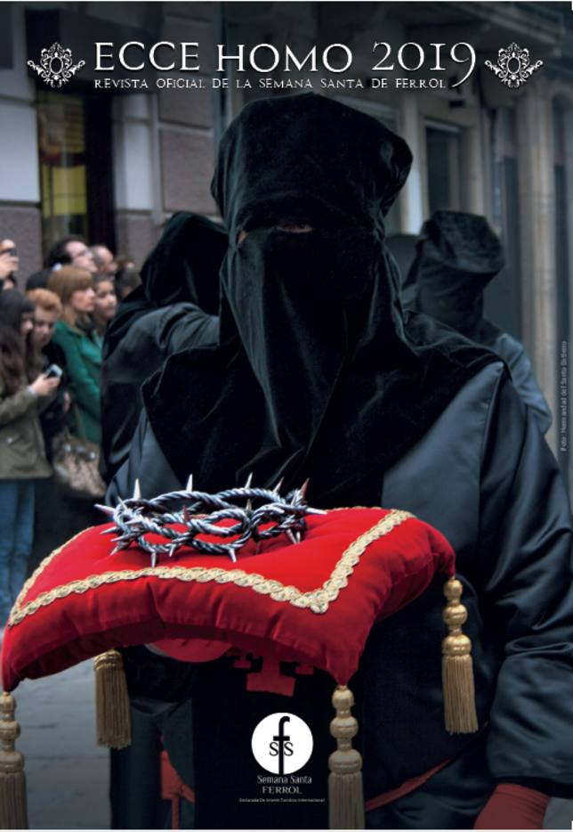Cartel de la Semana Santa de Ferrol 2019