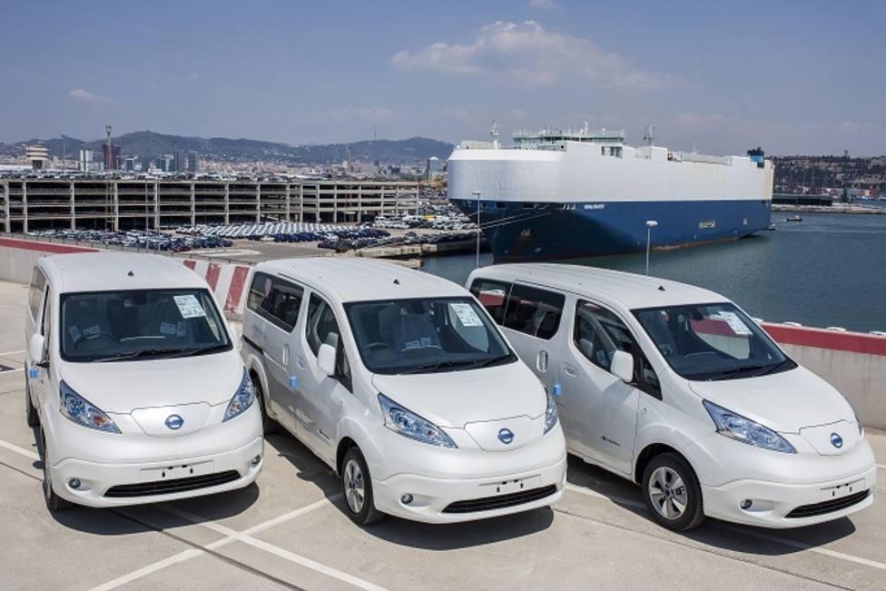 La furgoneta eléctrica Nissan e-NV200, fabricada en España, acumula 10.000 pedidos en Europa
