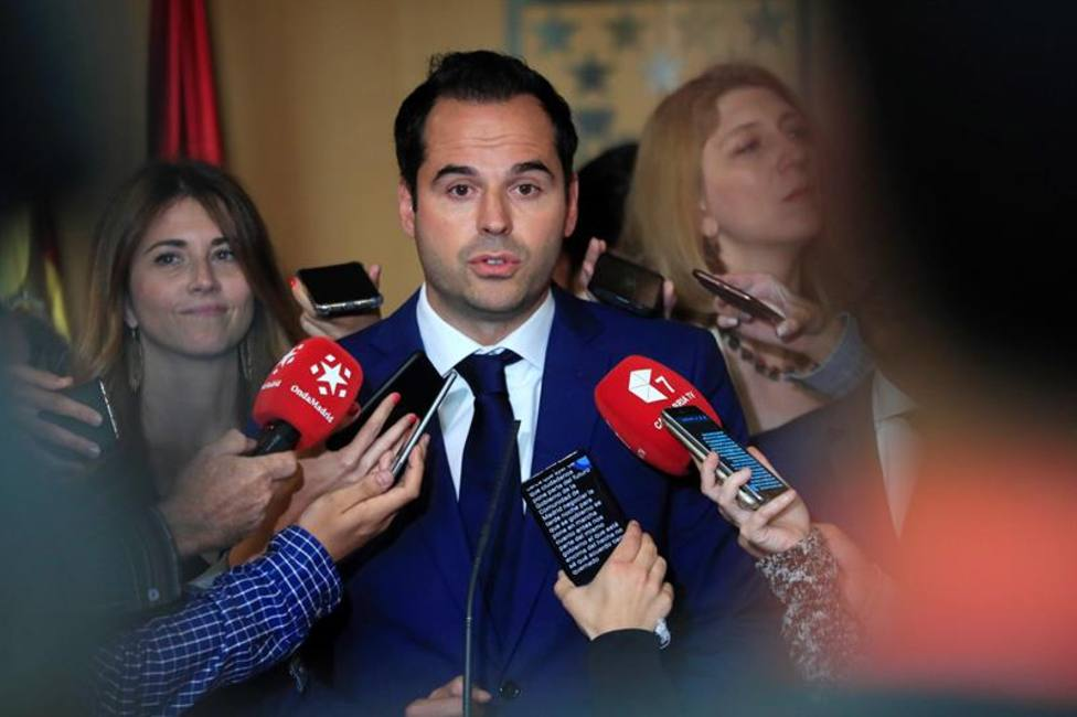 Ciudadanos no descarta repetir elecciones en la Comunidad de Madrid si Vox boicotea su pacto con el PP