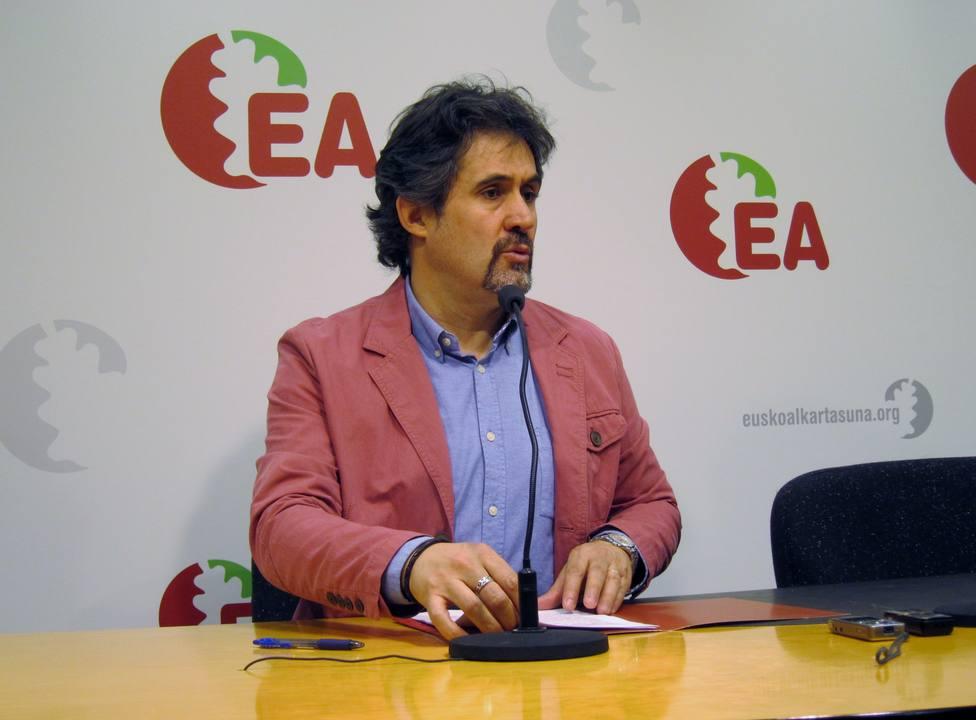 Pello Urizar presenta su dimisión como secretario general de Eusko Alkartasuna