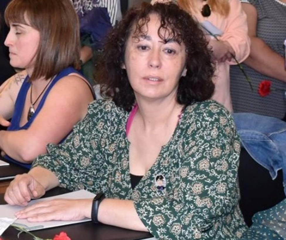 Montse Porteiro es portavoz de la Plataforma Sanitaria