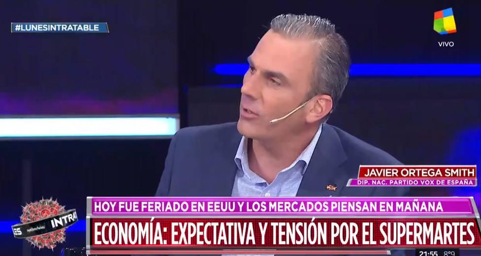¿De derecha o extrema derecha?. La comentada intervención de Ortega Smith en la televisión argentina