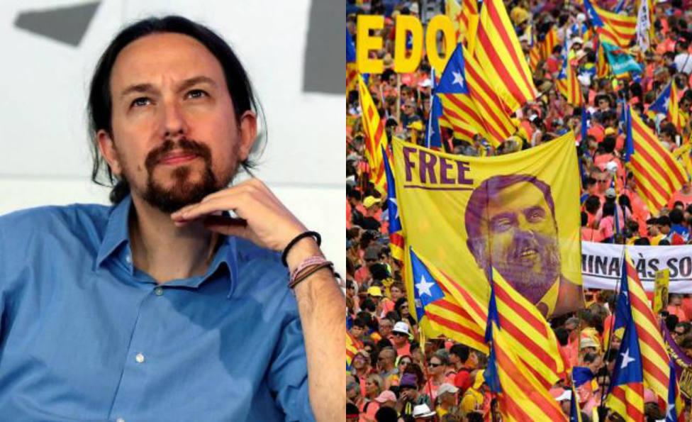 El baño de críticas a Pablo Iglesias por su propuesta para solucionar la crisis independentista en Cataluña