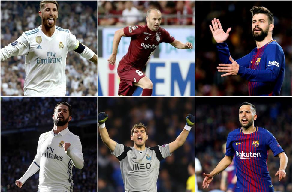 Los 30 deportistas españoles con más seguidores en Instagram