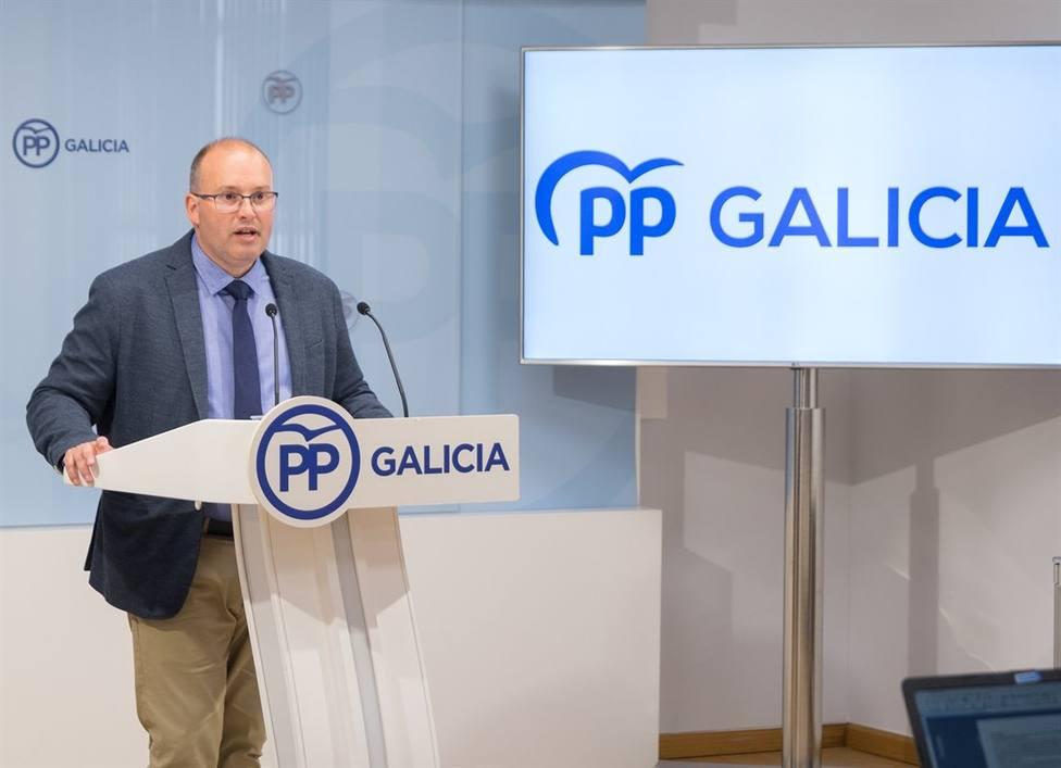 Miguel Tellado, secretario xeral del Partido Popular de Galicia - FOTO: Europa Press