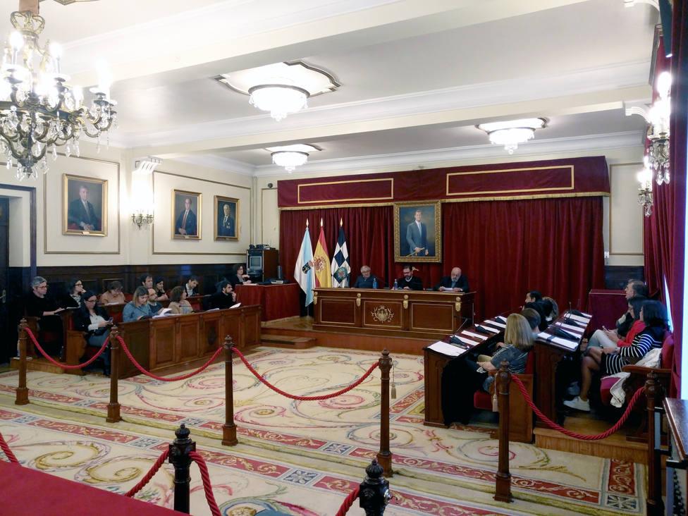 El pleno de Ferrol rechaza una moción del PP, de apoyo a Endesa, al no aceptar una enmienda del PSOE