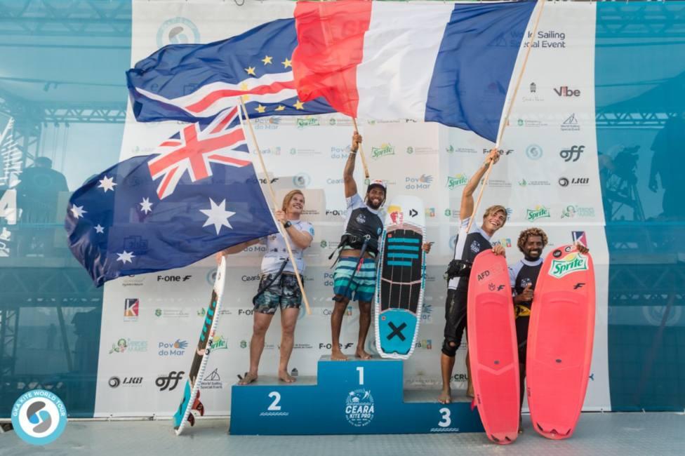 Resultados de la ültima Prueba del campeonato del mndo de Kite-Surf Freestyle Strapples (GKA y Daniel Jimenez)