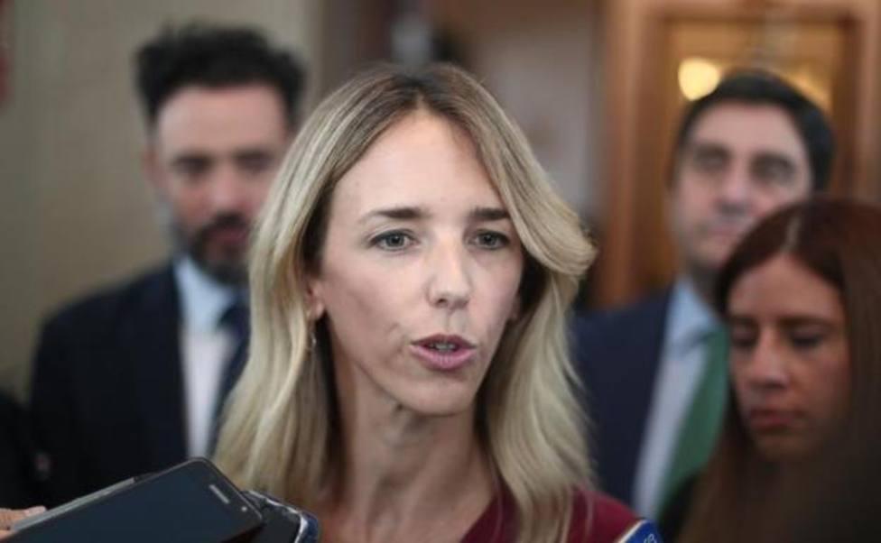 Cayetana Álvarez de Toledo, portavoz del Grupo Popular en el Congreso de los Diputados