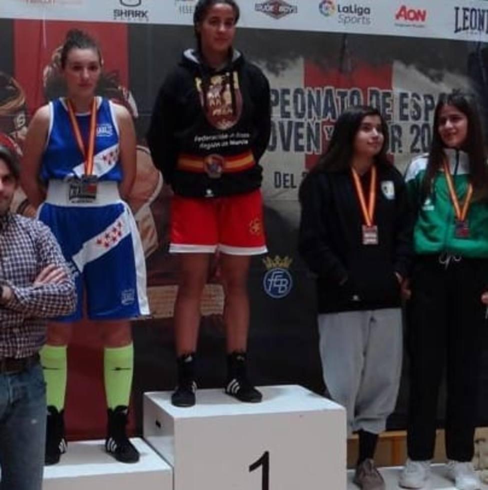 Oro para la boxeadora júnior Fátima Zahrae