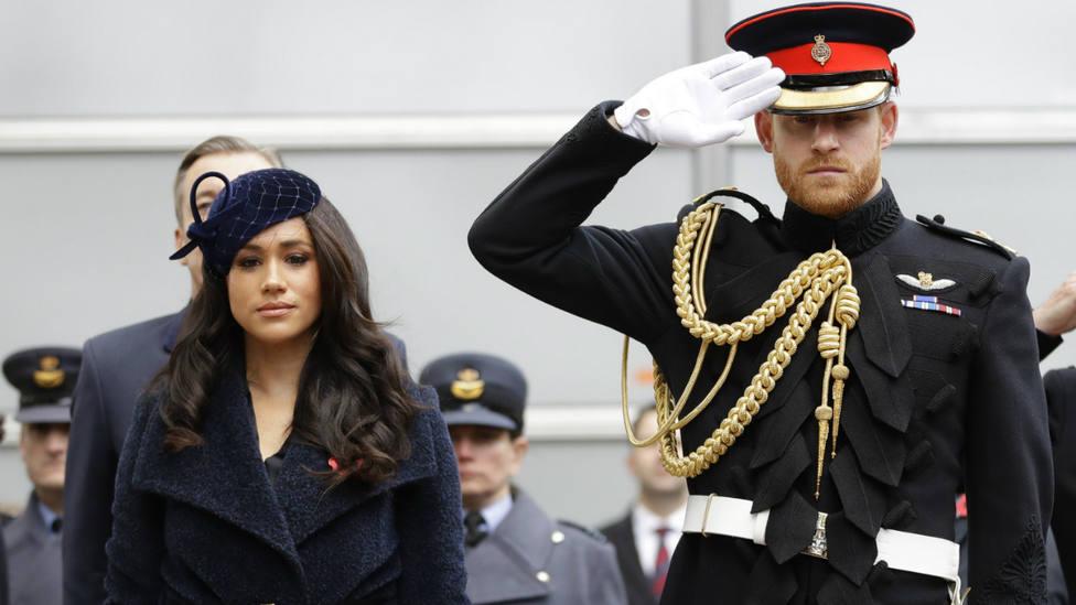 El Principe Enrique y Meghan Markle