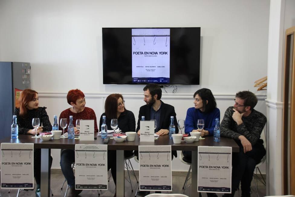 La primera traducción al gallego de 'Poeta en Nueva York' se estrenará en Lugo el 29 de enero