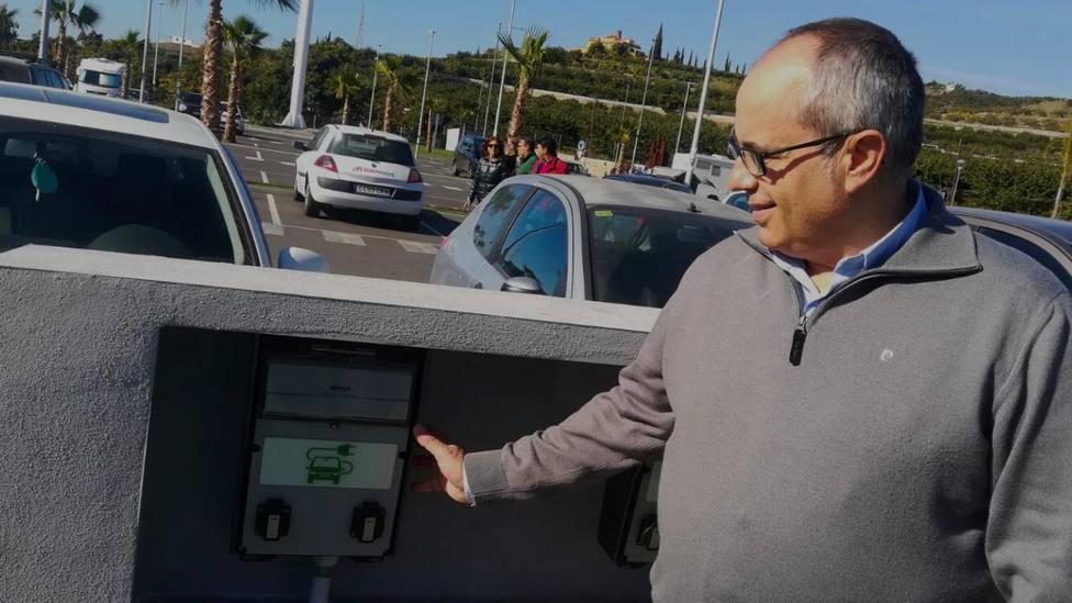 David Martín, concejal de AxSí en Motril