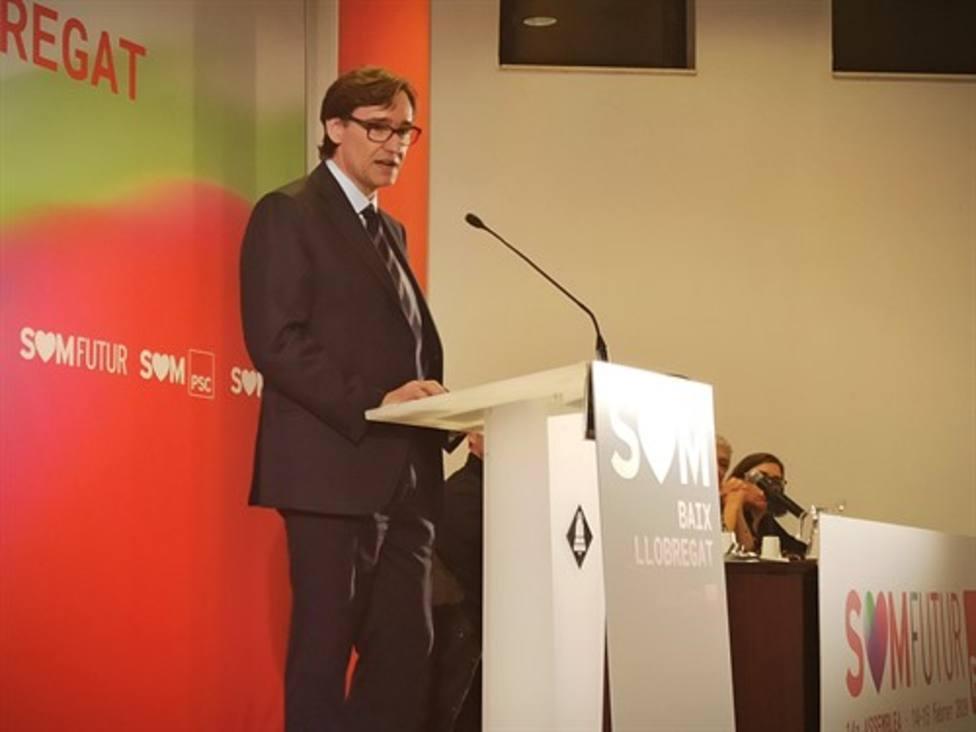 Salvador Illa en la cuestión catalana apuesta por devolver a la política lo que es de la política