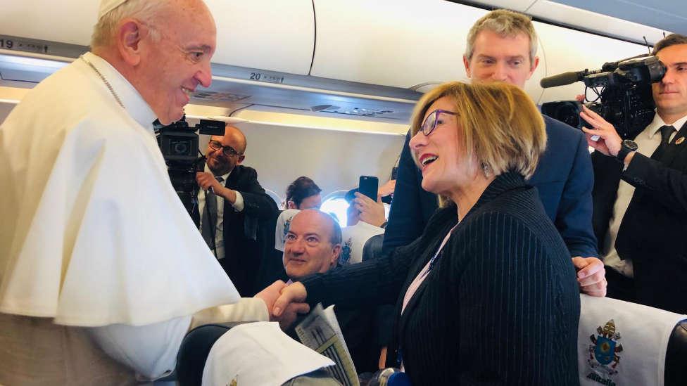 """La corresponsal de COPE en Roma, Eva Fernández: """"Caminar por Roma sin gente es una sensación lunar"""""""