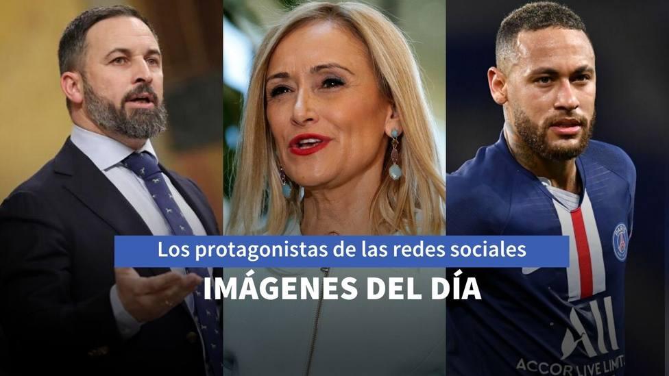 Abascal, Cristina Cifuentes y Neymar