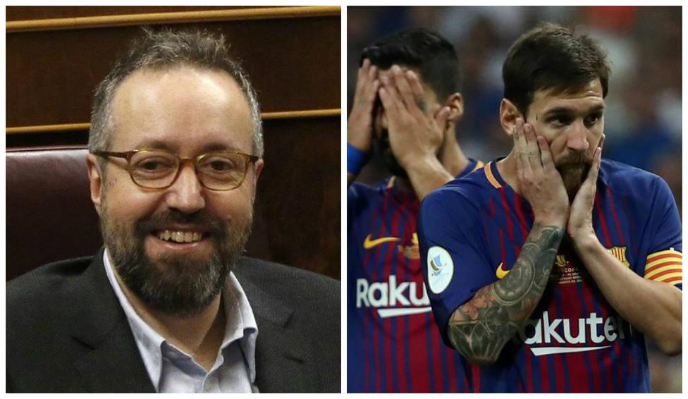 Girauta se 'mofa' del Barça con este meme