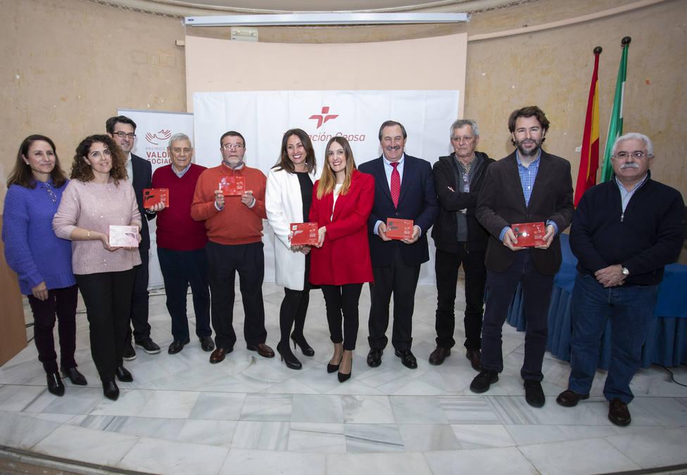 Galardonados de la XV edición de los Premios al Valor Social de la Fundación CEPSA